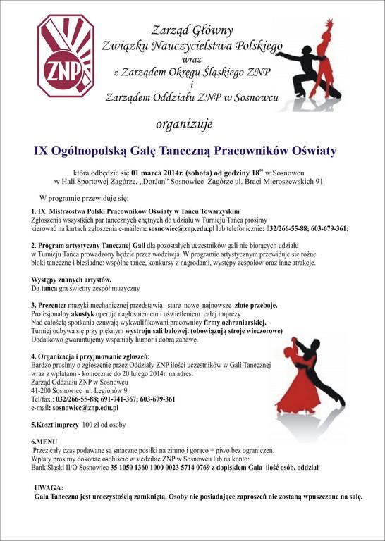 Związek Nauczycielstwa Polskiego Nadchodzące Wydarzenia Ix