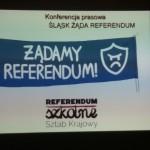 ŚLĄSK ŻĄDA REFERENDUM - KONFERENCJA PRASOWA W OKRĘGU ŚLĄSKIM ZNP  01