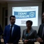 ŚLĄSK ŻĄDA REFERENDUM - KONFERENCJA PRASOWA W OKRĘGU ŚLĄSKIM ZNP  04